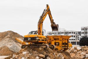 Építkezésekről sitt elszállítás konténerrel